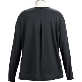 Alchemy Equipment Long Sleeve Pleated Relaxed Top Women graphite